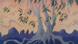 "Katherine Perkins's tapestry ""Sirocco Sky Provence"" was stunning."